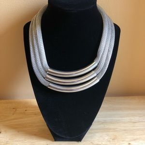 Jewelry - Silver Chunky Layered Necklace